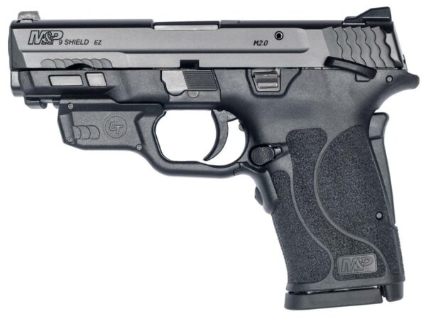 Smith Wesson 12438 M P 9 Shield EZ M2 0 9mm Luger 3 68 8 1 Black Polymer Grip Thumb Safety Red C 022188882827 image1 55897.1610663166.1280.1280 1